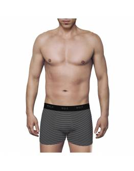 WALK MEN'S BOXER BAMBOO BRIEF WITH PRINT W1770-11