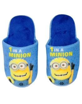 MINIONS Παιδικές παντόφλες UN61101_1 Μπλέ