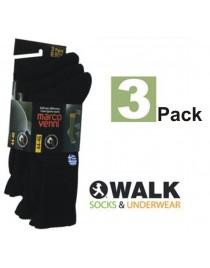 WALK Ανδρικη αθλητικη καλτσα πακετο 3 μαζι κωδ. V9900